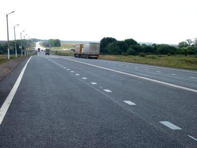 На рязанском участке трассы М6 «Каспий» сбили полицейского