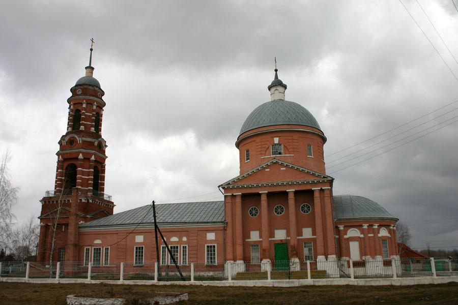 Церковь Рождества Богородицы в селе Виленка Михайловского района