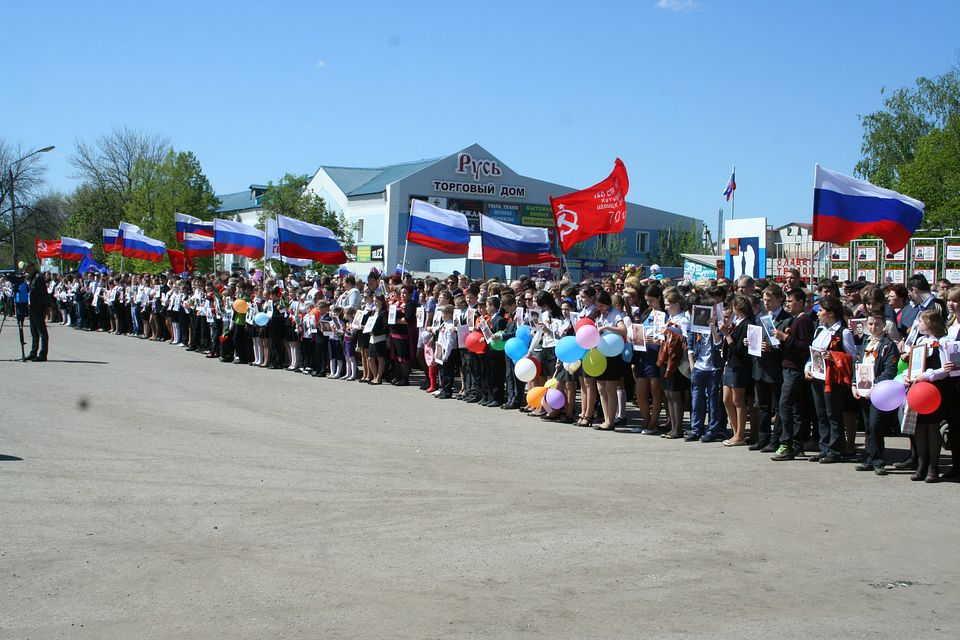 9 мая 2014 года в городе Михайлове состоялся Парад Победителей