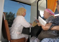 Медицинская помощь уже едет в глубинки Рязанской области на автопоезде «Забота и здоровье»!
