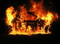 Житель Михайловского района поджог свой автомобиль