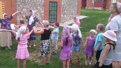 Эстафета, посвящённая дню Крещения Руси.