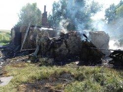 В деревне Федоровка, Михайловского района возник пожар в жилом доме