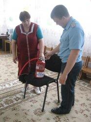 В детском саду «Березка» Михайловского района прошел противопожарный инструктаж с персоналом дошкольного учреждения
