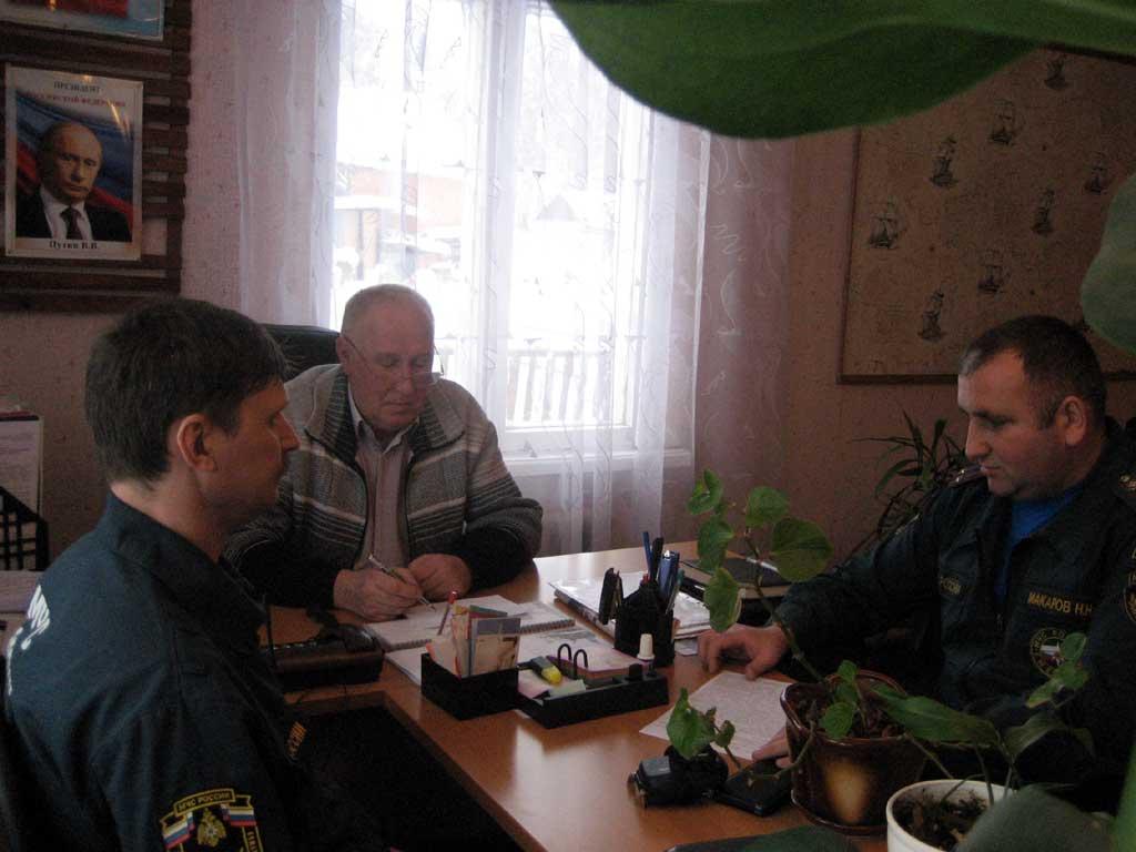 Ильичевское сельское поселение Михайловского муниципального района состоялось рабочее совещание с главой администрации МО